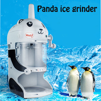Commercial Ice Machine Ice Grinder Ice Crusher Ice Sand Machine New Panda Models Cute Shape Ice