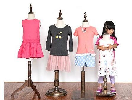 1 pc, 1-2 ans enfant mannequins corps vente, kafa makeni, enfants maniquis para ropa, présentoir, couleur antique, M00377