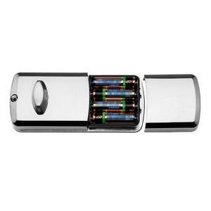 Image 5 - LACHCO Porta Elettronica Password di Blocco, 2 Carte, 2 Tasti meccanici Tastiera di Tocco Dello Schermo Blocco di Codice Digitale Smart Entry L16076BS