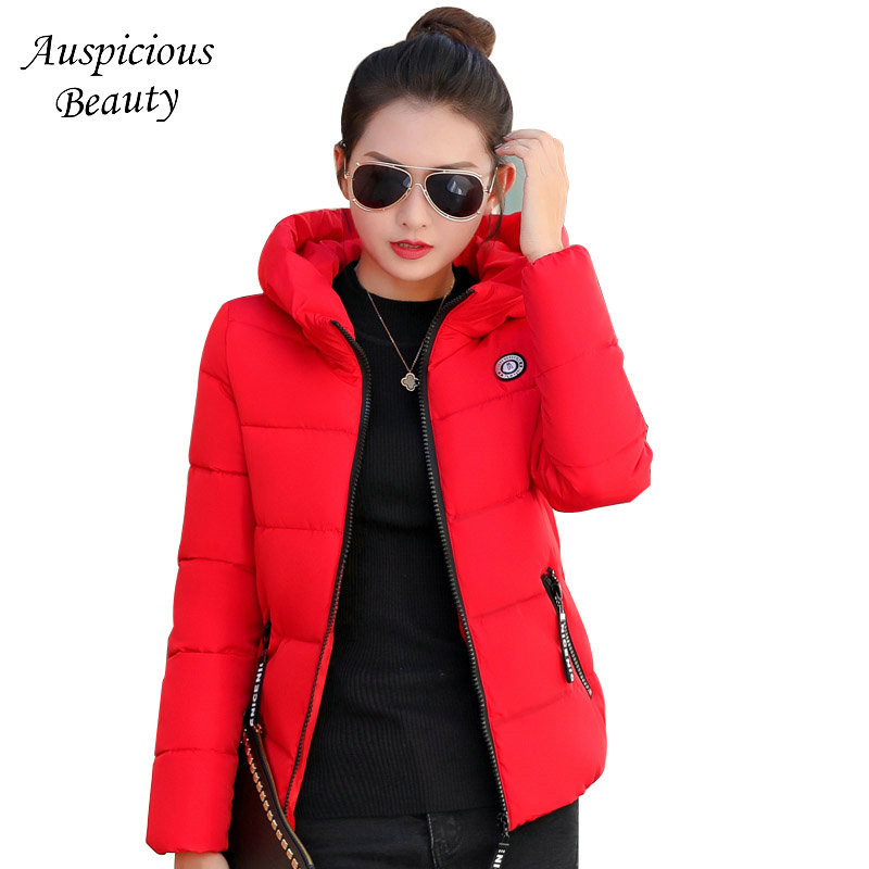 Women Winter Warm Hooded Thicken Slim Wadded Jacket Woman Parkas Female Ladies Short Wadded Overcoat Winter Jackets CXM142 2017 new winter women warm hooded thicken slim wadded jacket woman parkas female ladies wadded overcoat long cotton coat cxm31