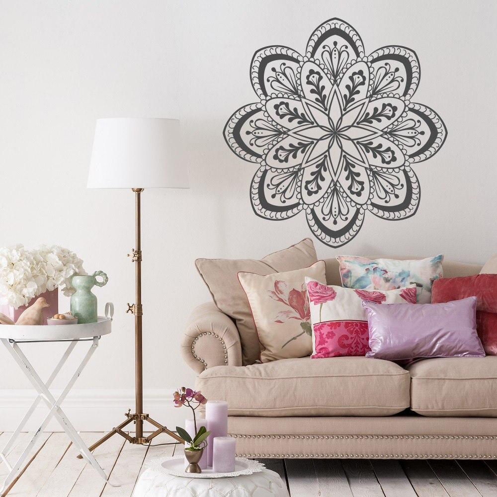 Hot Selling Mandala Flower Art Designed Wall Poster Home Livingroom ...