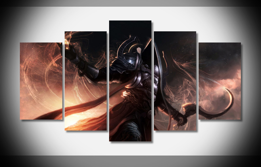 6967 Malthael Diablo III Reaper Of Souls Angel Death ...  |Diablo Iii Poster