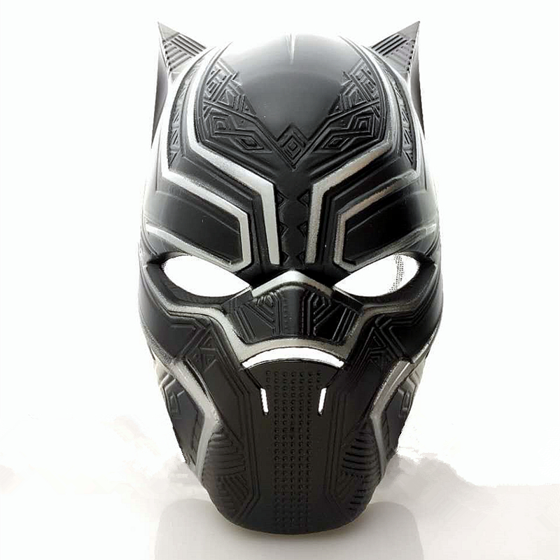Child Kids Marvel Heroes Fightin Captain America Black Panther Mask Cosplay Animal Masks Airsoft Protective costume DC paintball ...