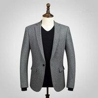 Черные мужские костюмы куртка шерсть смешивается деловые костюмы куртка изготовление под заказ свадебные костюмы с платьем куртка