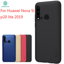 For Huawei Nova 5i Case Cover NILLKIN High Quality Fitted Cases P20 Lite 2019 Super Frosted Shield
