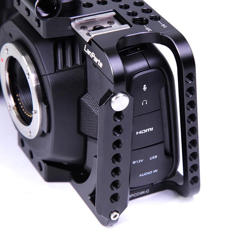 Lanparte Bmpcc 4k Blackmagic Design Pocket Cinema Camera 4k Full Camera Cage With Free Samsung Ssd Mount Domeikavos Vila Lt