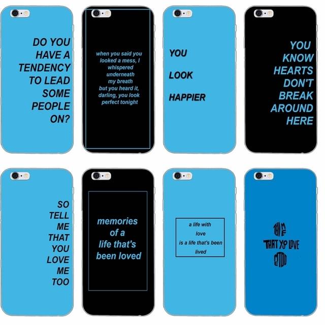 US $1 99  popular singer ed sheeran lyrics slim Soft phone case For Samsung  Galaxy J1 J2 J3 J5 J7 A3 A5 A7 2015 2016 2017-in Half-wrapped Case from