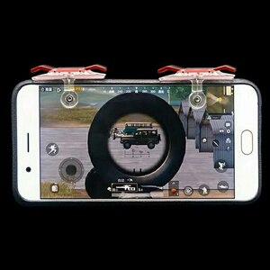 Image 4 - 2 шт., контроллер для мобильных игр, игровой триггер, кнопка запуска L1R1, кнопка запуска, джойстик для шутеров, для PUBG Phone Gaming