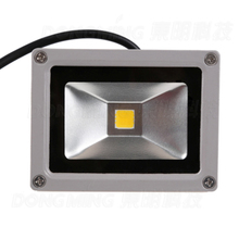 New 35pcs/lot RGB DC 12 volt led flood light 10w best price rechargeable led floodlight outdoor led spotlight IP65 900LM