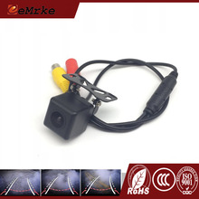 EEMRKE Universal Car Rear View Camera Dynamic Trajectory Parking Line Auto Reverse Rearview Reversing Tracks Camera RCA NTSC