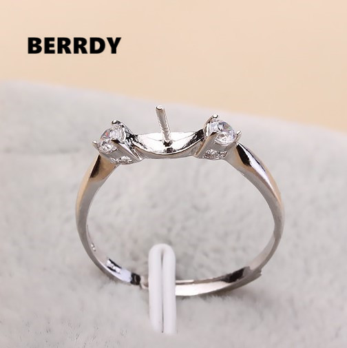 Hot Promotion Charm Pearl Ring Mountings Findings Jewelry Parts Ings Jewellery