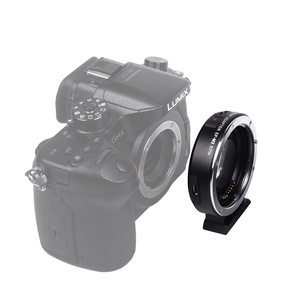 Viltrox EF-M2 AF Automatické zaostřování EXIF 0.71X Redukce - Videokamery a fotoaparáty - Fotografie 4