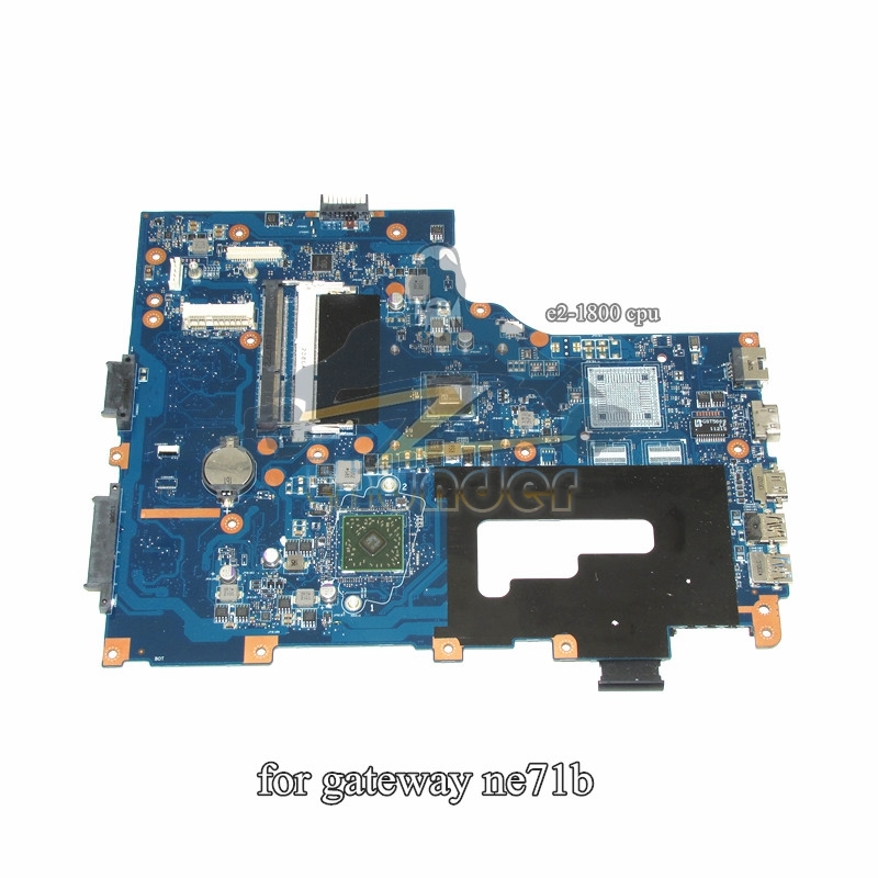 EG70 EG70BZ Rev 2.0 for gateway NE71B NE71B06U laptop motherboard E2-1800 cpu DDR3 eg70 eg70bz rev 2 0 for gateway ne71b ne71b06u laptop motherboard e2 1800 cpu ddr3