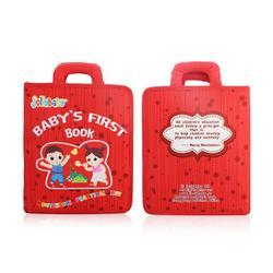 Nuovo Montessori Prima Educazione Del Bambino Del Panno Libro Bambino Strappo Non È Male Di Puzzle di Lettura Giocattolo Genitore-bambino Interactive Apprendimento Panno libro
