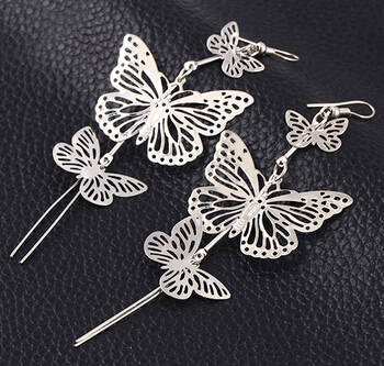 MissCyCy Fashion 2016 Zinc Alloy Hot Selling Rock Exaggerated Hollow Butterfly Earrings Earrings For Women.jpg 640x640 - MissCyCy Fashion 2016 Zinc Alloy Hot Selling Rock Exaggerated Hollow Butterfly Earrings  Earrings For Women