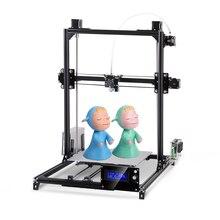 Большой размер печати Flsun I3 3d принтер 300*300*420 мм металлическая рамка автоматическое выравнивание DIY 3d принтер комплект ЖК-экран с подогревом кровати