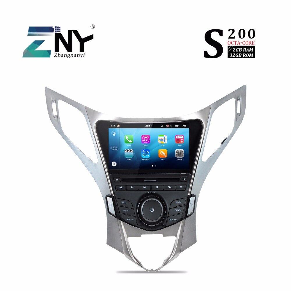 S200 Android 8,0 dvd плеер автомобиля для Hyundai Azera Grandeur HG I55 автомобильное стерео радио gps навигации мультимедийной системы CarPlay