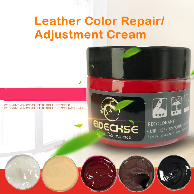 Anto Leather Vinyl Repair Kit Leather Paint Cleaner For Auto Seat Sofa Leather Repair Coats Holes Scratch Cracks No Heat Liquid(China)