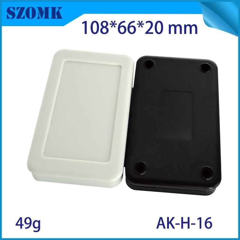 10 pieces 108 66 20mm szomk abs plastic electronics case customizable plastic box for electronics project