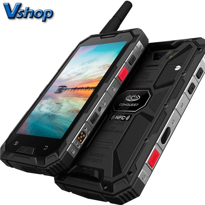 Conquest S8 Plus 4G смартфон с восьмиядерным процессором, ОЗУ 4 Гб, ПЗУ 64 ГБ, Android 6,0, 1080P