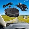 12 V/24 V 3In1 Car LED Voltímetro Digital de Carro Termômetro Automóvel Relógio Eletrônico Display Led Mini Voltímetro Digital