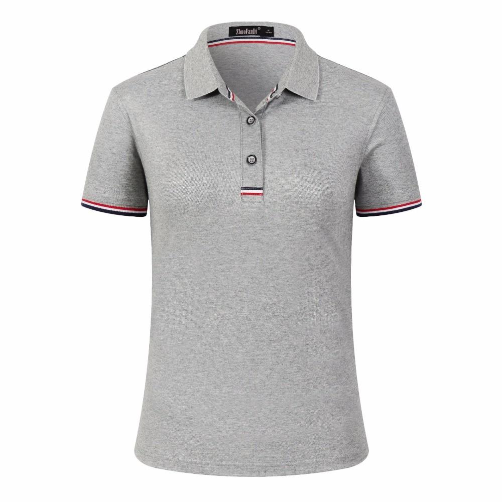BabYoung Summer Unisex Tops Women Polo Shirt Cotton Short sleeve Couple Tops  Tee Shirt Breathable Polo Shirt Chemisier Femme-in Polo Shirts from Women s  ... d0fdf6503