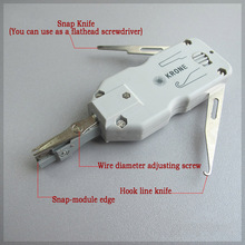 Classic Short krone wire cutter Network cable Phone Telecom pliers Portable tool Snap-In knife for AMP module 110 Patch Panel