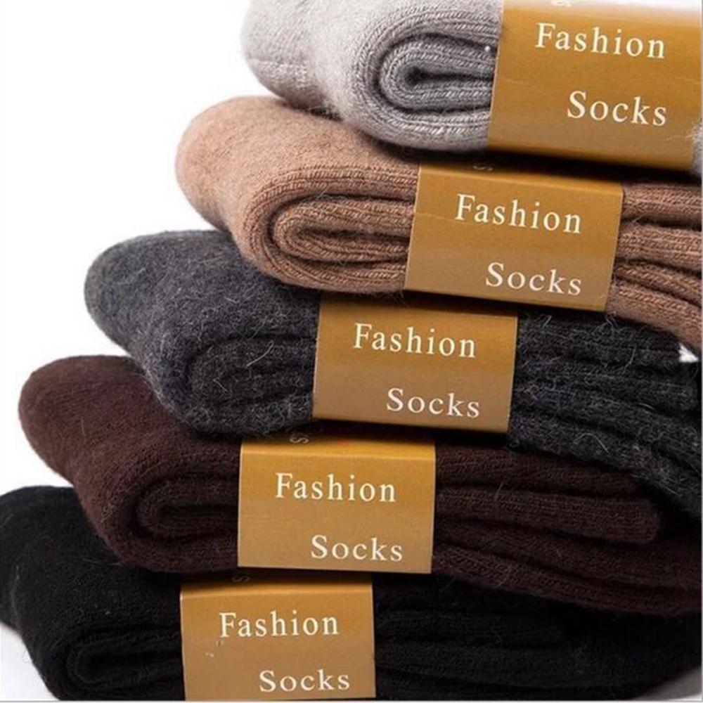 Thermal Socks Winter Warm Lamb Wool Multi Color Women Men Causal Thick Socks