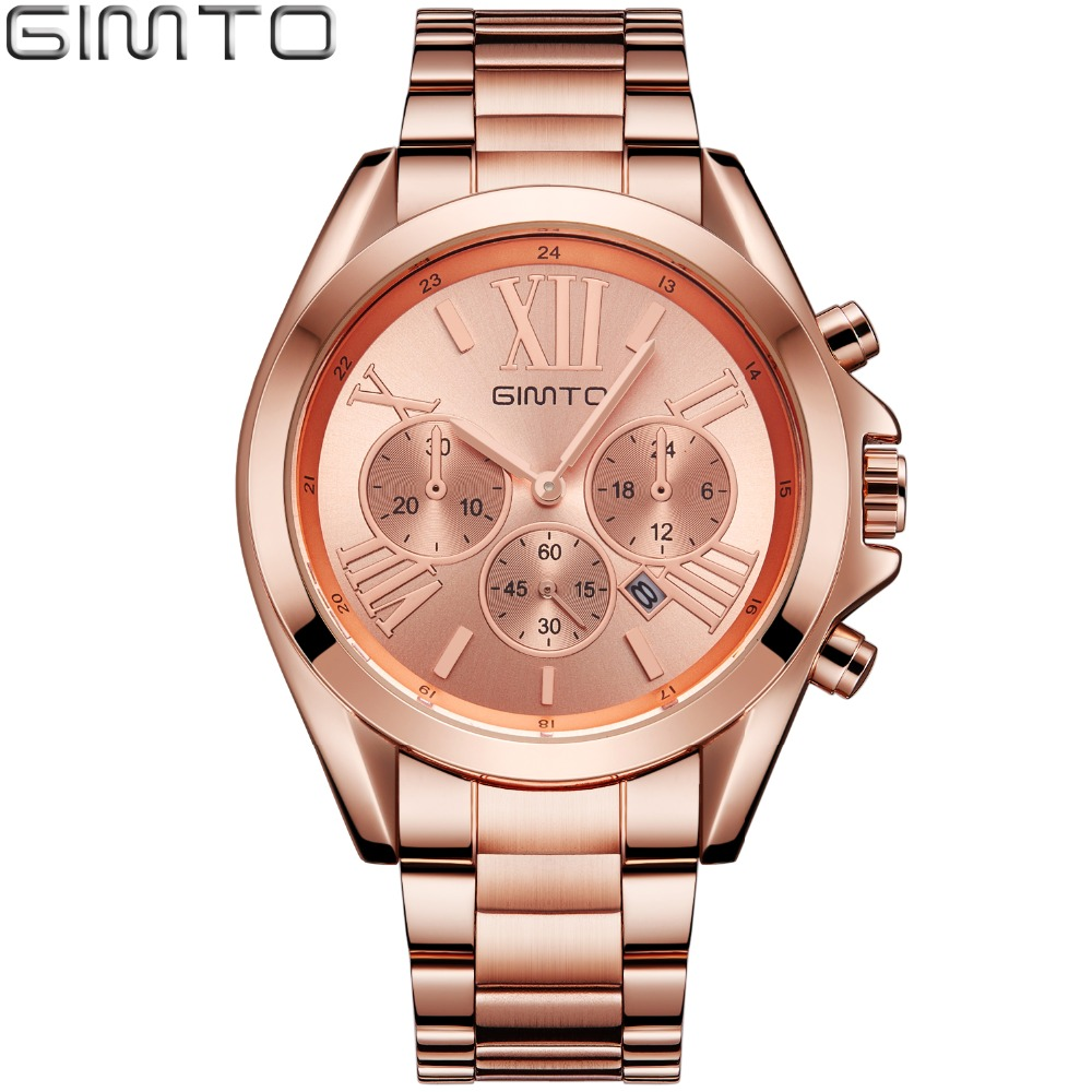 2017 Fashion Rose Gold Women Watches Luxury Brand Clock Roman Quartz Ladies Watch Sport Female Wristwatch Relogio montre femme tshing ray fashion women rose gold mirror cat eye sunglasses ladies twin beams brand designer cateye sun glasses for female male