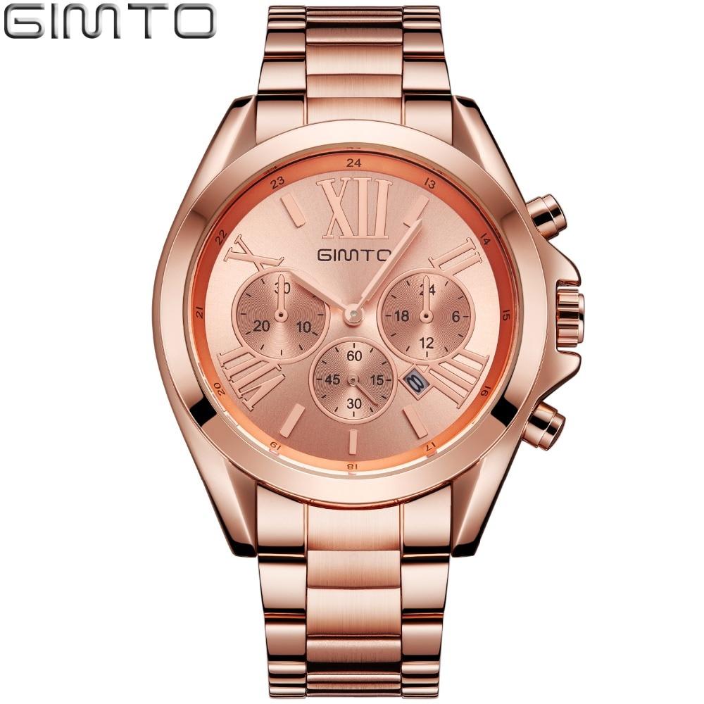 2017 Fashion Rose Gold Women Watches Luxury Brand Clock Roman Quartz Ladies Watch Sport Female Wristwatch Relogio montre femme
