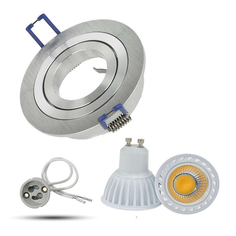 GU10 Recessed LED Dimmable Downlight COB 5W 7W 9W LED Spot light LED decoration Ceiling Lamp AC 110V 220V led bulbs light