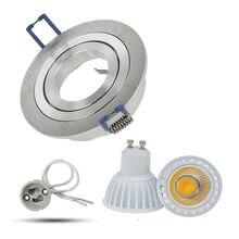 Gu10 Встраиваемый светодиодный светильник с регулируемой яркостью