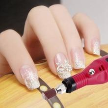 Fast Nail Art Drill KIT Electric FILE Buffer Bits Acrylic Portable Salon Machine