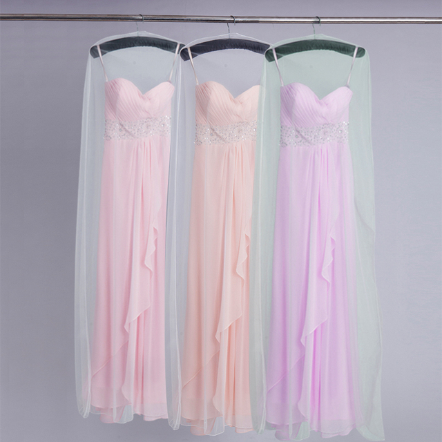 Soft Yarn Lace Wedding Dress Storage Bag Cover Large Capacity Cloth Hanging  Suit Coat Dust Cover