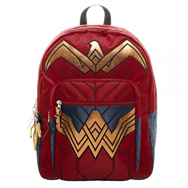 Dawn of Justice DC Wonder Woman Backpack 18 x 19inches backpack notebook School Bag Backpack for Girls, Boys