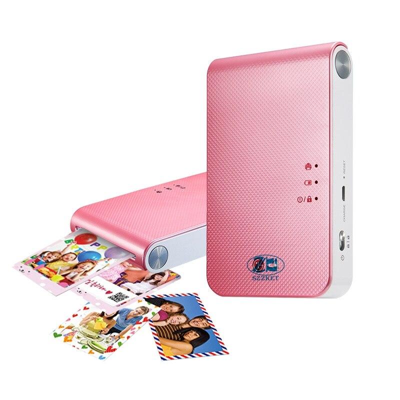 Portable photo printer PD239 mini mobile phone with bluetooth wireless camera for portable pocket printing machine