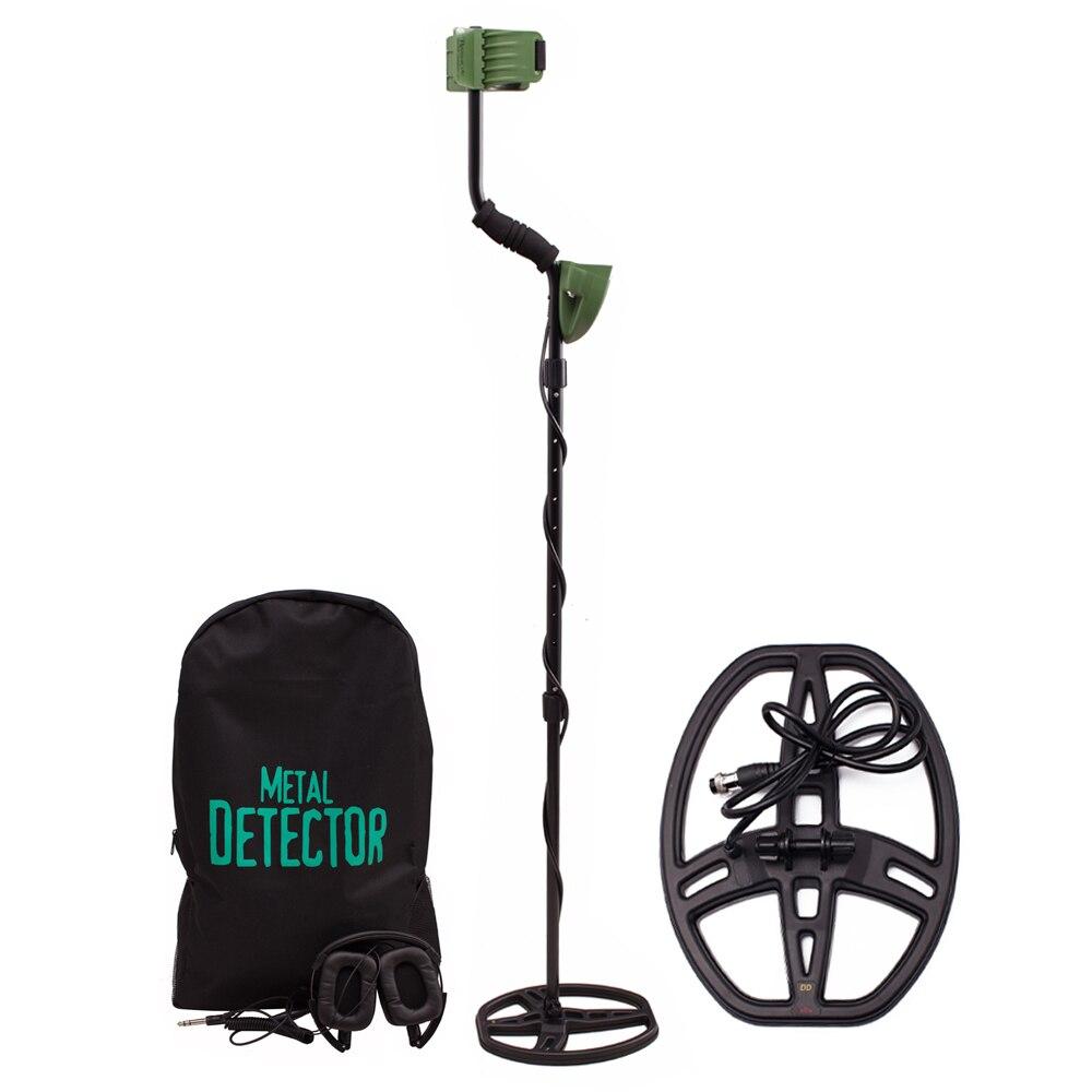 Ad alta Sensibilità MD6350 Professionale Metal Detector Metropolitana di Ricerca con Bobina Impermeabile e Cuffia Pinpointer Hunter Oro