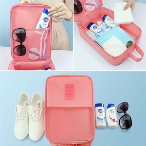 Image 2 - Portable Travel Shoes Storage Tote Ventilate Pouch Zip Bag Organizer 29 13 22c Household  Underwear Sorting Bag