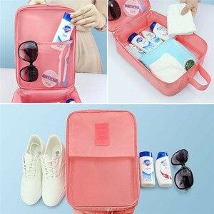 Image 2 - Taşınabilir seyahat ayakkabısı saklama kutusu Havalandırma Kılıfı Zip çanta düzenleyici 29 13 22c Ev Iç Çamaşırı Sıralama Çantası