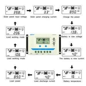 Image 4 - Epever 10A 20A 30A 45A 60A Solar Charge Controller Controlador De Carga 12V 24V Auto Pwm Solar Rregulators vs Serie Hot Koop