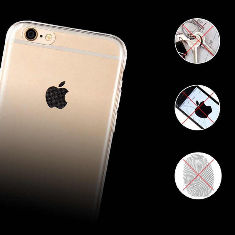 ברור הסיליקון רך TPU טלפון מקרה עבור iphone 7 8 6 6 s בתוספת 7 בתוספת 8 בתוספת X XS מקסימום XR שקוף מקרה עבור iphone נגד לדפוק P004