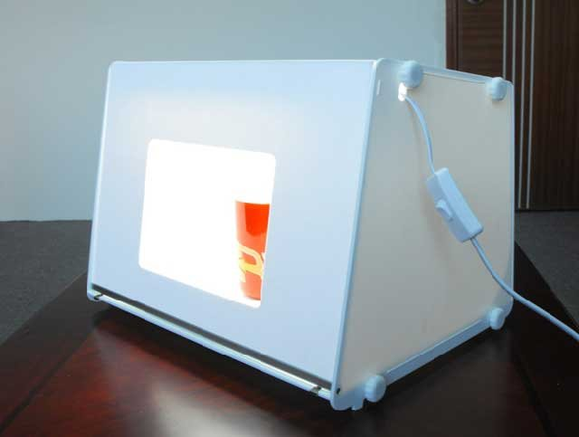 professional portable mini photo studio photography light box photo box mk40 16 mini photo. Black Bedroom Furniture Sets. Home Design Ideas