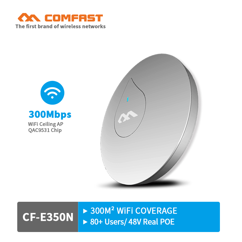 300 Mbps 27dBm high power wireless Decke AP router CF-E350N wifi access point AP router Wifi Repeater unterstützung 48 V POE openwrt