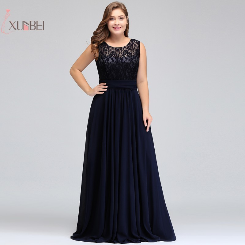 Chiffon Sleeveless Elegant 2019 Long   Prom     Dresses   Plus Size   Prom   Gown vestidos de festa Longo New