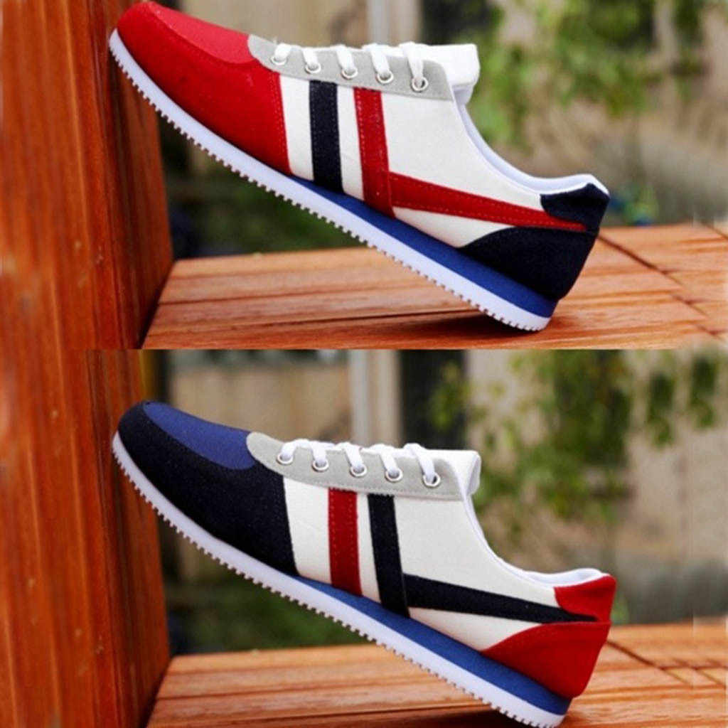 Mode mannen Lace Up Sport Loafers Casual Sneakers Platte Canvas Schoenen Outdoor Running Lace Up Dames Schoenen Vrouw Sneakers
