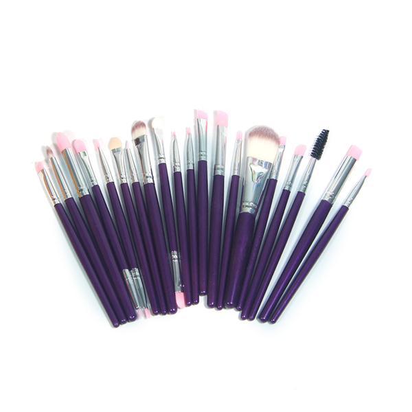 20Pcs Makeup Brushes Powder Foundation Eyeshadow Eyeliner Lip Makeup Set Makeup Eyeshadow Foundation Concealer Cosmetic Brushes