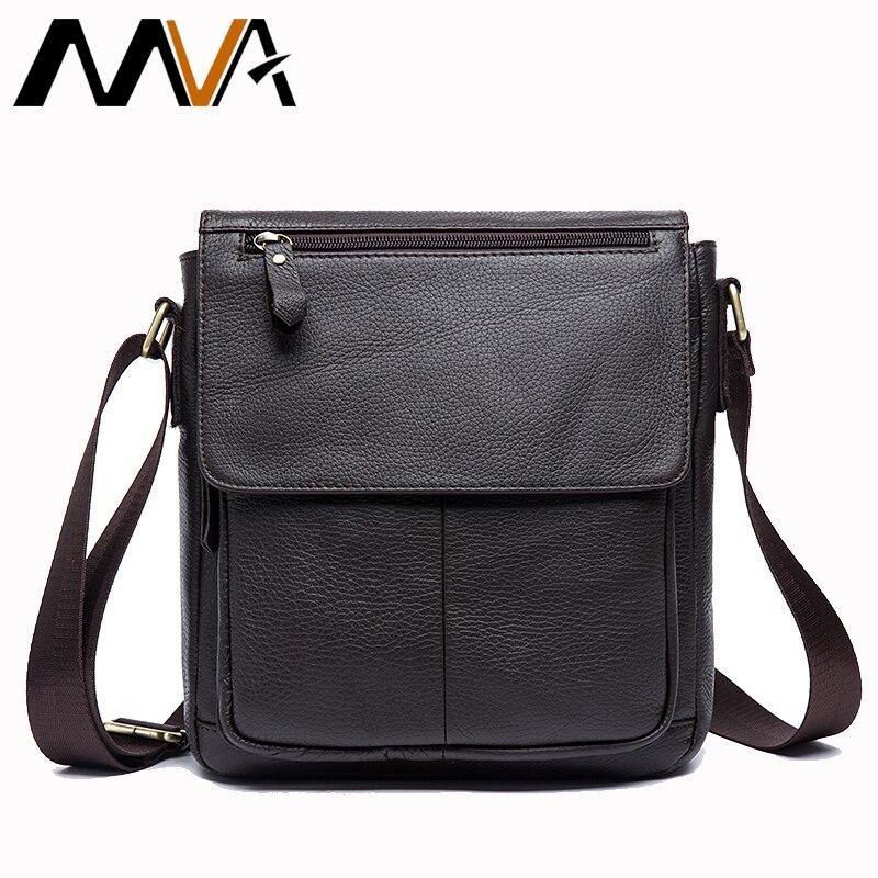 878a0f497f95 Купить MVA сумка мужская натуральная кожа сумка плечо сумки для мужчин сумка  мужская через плечо мужские сумки из натуральной кожи многофукциональ.