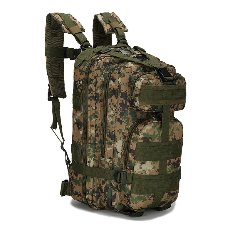 Mens Large Capacity Military Backpack Waterproof Travel Backpack 3P Attack Backpack Nylon Army Patrol Camouflage Rucksuck Bags