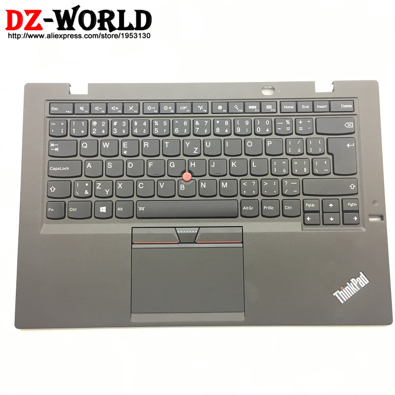 CZ New Orig for Lenovo Thinkpad X1 Carbon 3rd 20BS 20BT Czech Backlit Keyboard with Palmrest