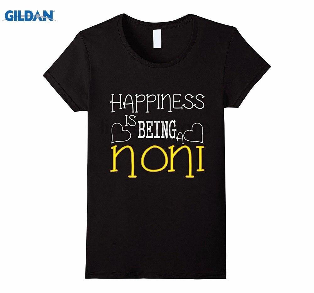 Возьмите счастье быть нони подарок для нони на Рождество футболка s Горячая Для женщин футболка